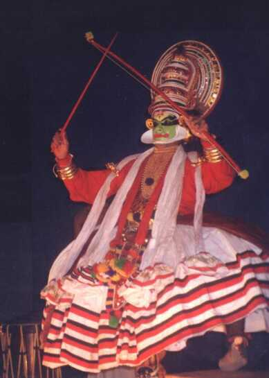 Kalamandalam Prasanth as Arjunan in Kiratham