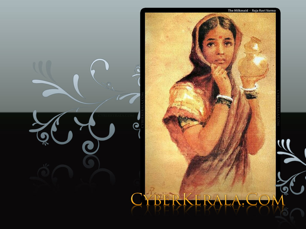 Wallpaper - The Milkmaid