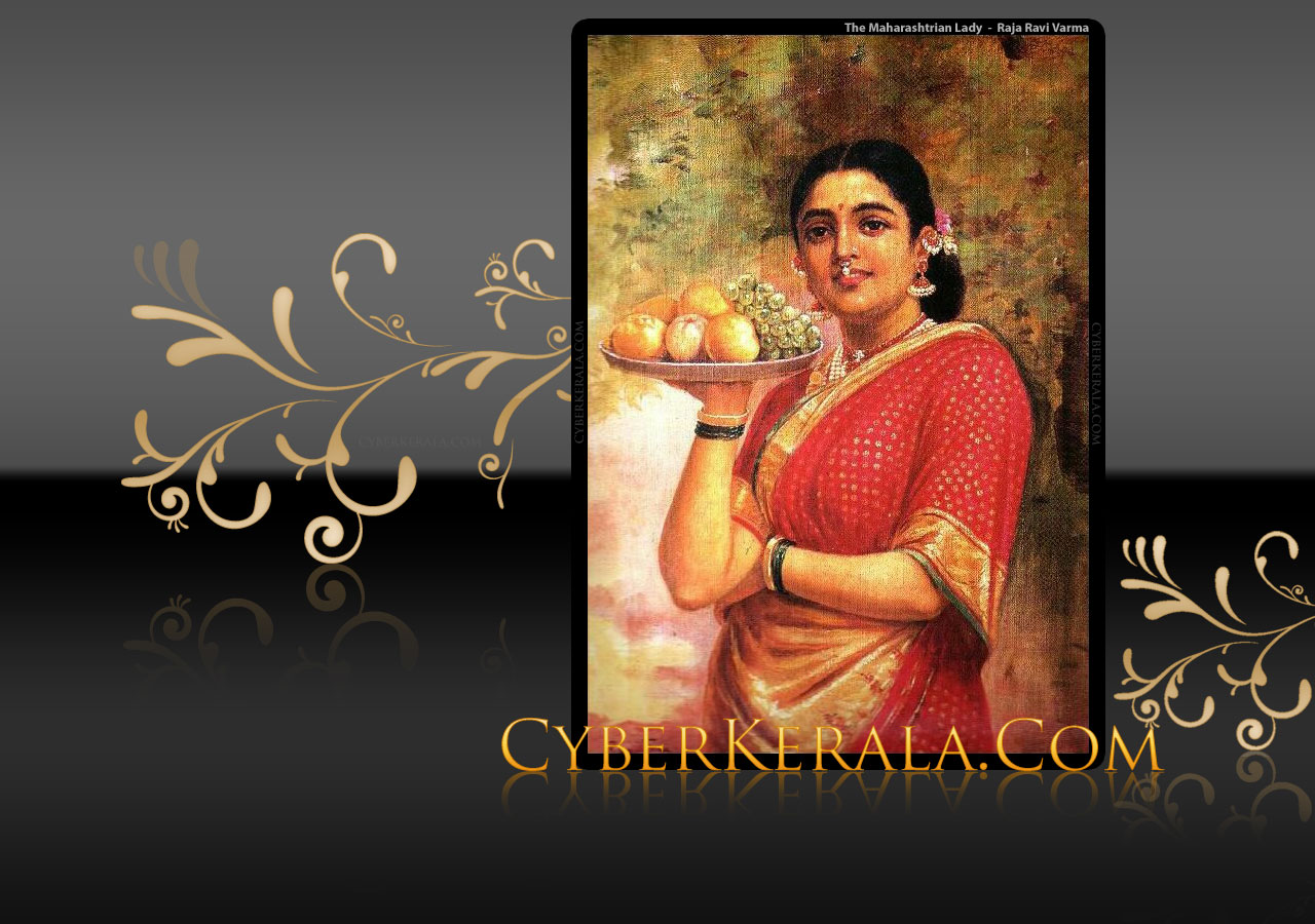 Wallpaper - The Maharashtrian Lady
