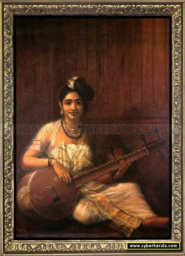 Lady with Veena
